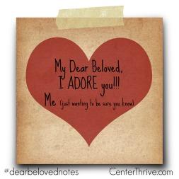 I adore you!