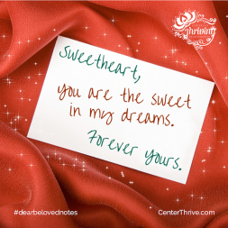You are the sweet in my dreams!