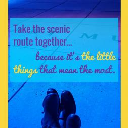 Take the scenic route.