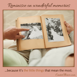 Reminisce on wonderful memories!