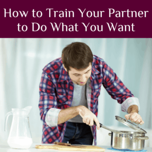 How to Train Your Partner to Do What You Want