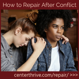 How to Repair After Conflict