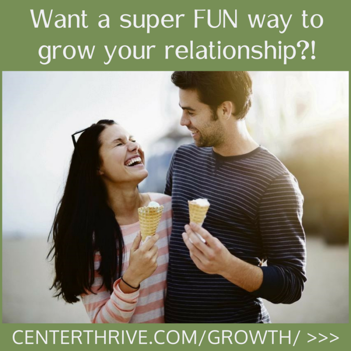 Want a super FUN way to grow your relationship?