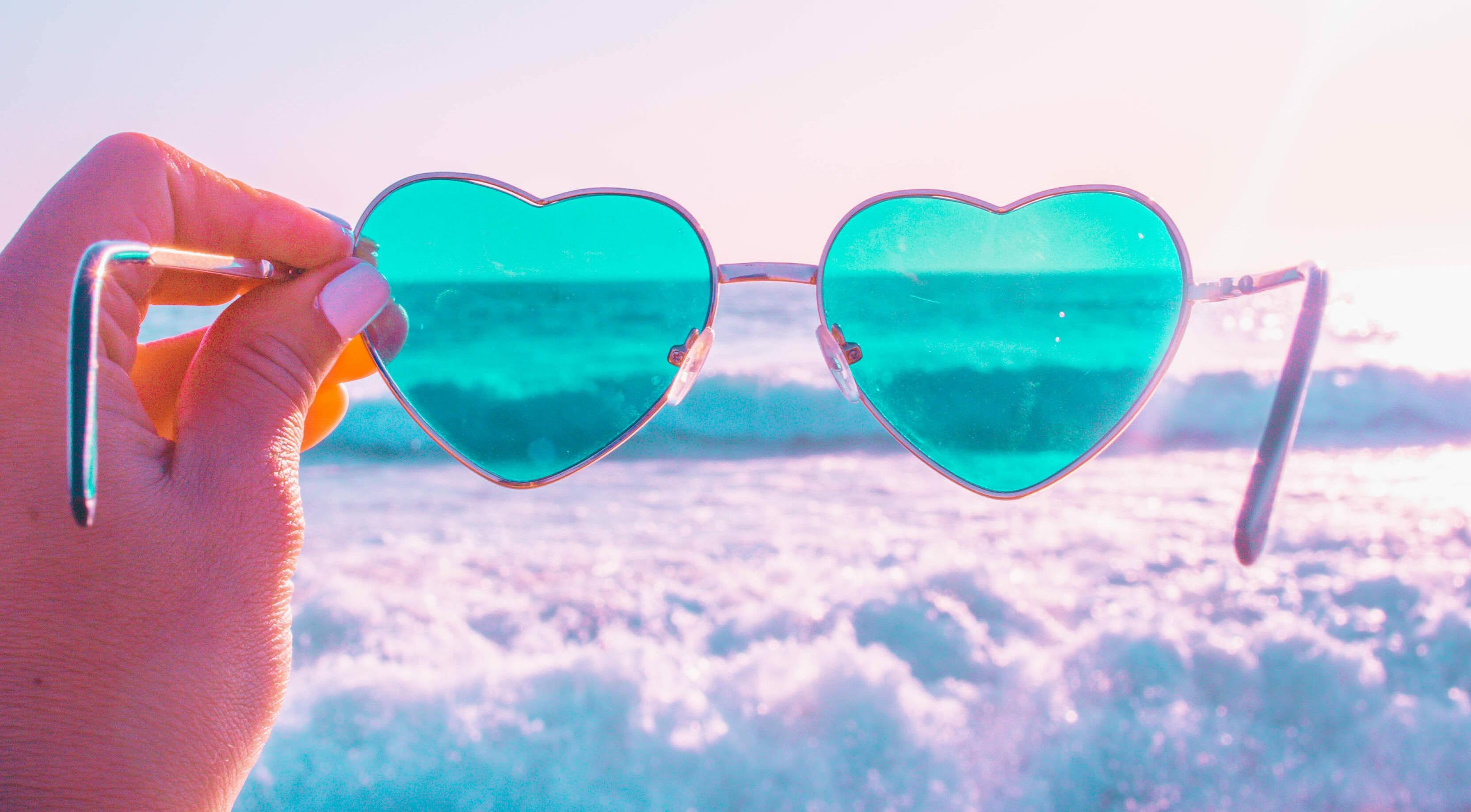 Heart Colored Glasses